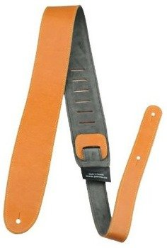 pas do gitary PERRI'S PREMIUM ITALIAN LEATHER ORANGE 65 mm