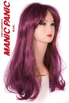 peruka HIPPY CHICK bordo Manic Panic