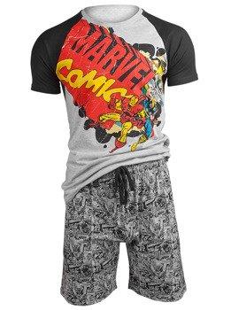 piżama MARVEL - COMICS VINTAGE LOGO SHORTAMA