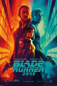 plakat BLADE RUNNER 2049 - FIRE & ICE