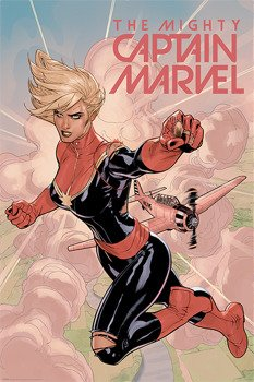 plakat CAPTAIN MARVEL - FLIGHT