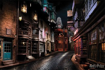 plakat HARRY POTTER -  DIAGON ALLEY