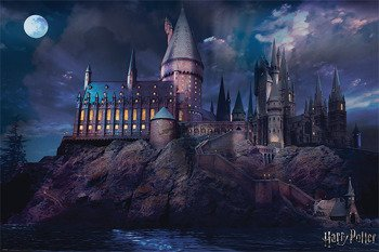 plakat HARRY POTTER -  HOGWARTS
