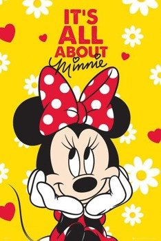plakat MINNIE MOUSE