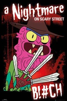 plakat RICK AND MORTY - SCARY TERRY
