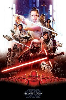 plakat STAR WARS: RISE OF SKYWALKER - EPIC