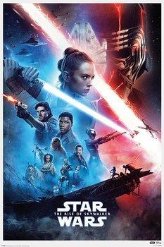 plakat STAR WARS: RISE OF SKYWALKER - SAGA
