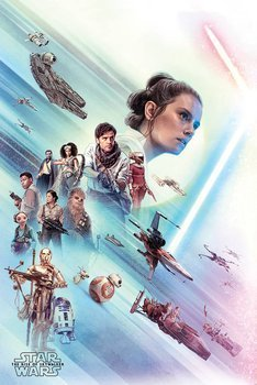 plakat STAR WARS - THE RISE OF SKYWALKER (REY)