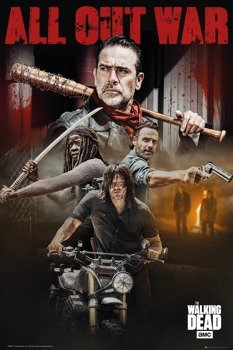 plakat THE WALKING DEAD - SEASON 8 COLLAGE