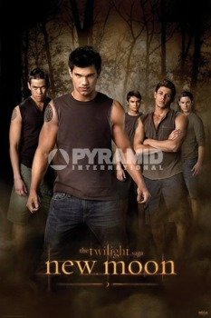 plakat ZMIERZCH - NEW MOON (WOLF PACK)