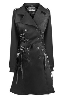 płaszcz damski CHEMICAL BLACK - ELLEN