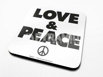 podkładka pod kubek LOVE & PEACE