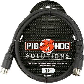 przewód midi PIG HOG PMID03 / 5p DIN / 0,9m