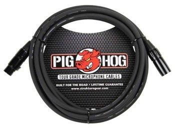 przewód mikrofonowy PIG HOG PHM10 / XLR żeński -  XLR męski / 3m