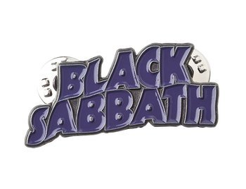 przypinka BLACK SABBATH - PURPLE LOGO