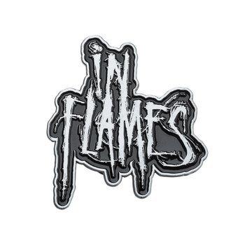 przypinka IN FLAMES - LOGO