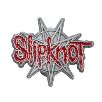 przypinka SLIPKNOT - 9 POINTED STAR