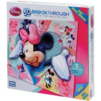 puzzle DISNEY - 3D MINNIE MOUSE 300 szt  wiek 8+