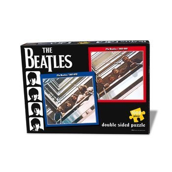 puzzle THE BEATLES - RED & BLUE DOUBLE, 1000 el.