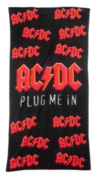ręcznik kąpielowy ACDC - PLUG ME IN