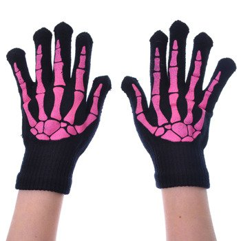 rękawiczki POIZEN INDUSTRIES - BLACK/PINK