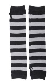 rękawiczki POIZEN INDUSTRIES - STRIPE ARMWARMERS BLACK GREY