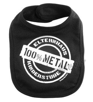 śliniak 100% METAL