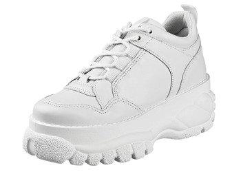 sneakersy ALTERCORE białe (MOSSI WHITE)