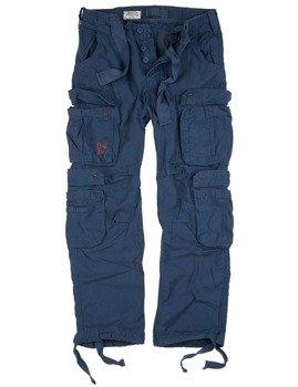 spodnie bojówki AIRBORNE VINTAGE TROUSERS NAVY