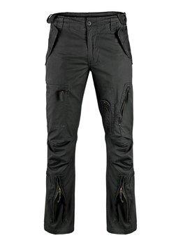 """spodnie bojówki FLIEGERHOSE COTTON VINTAGE """" STRAIGHT CUT """" SCHWARZ"""