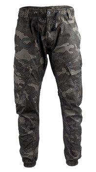 spodnie bojówki RAY VINTAGE - DARKCAMO
