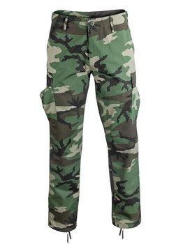 "spodnie bojówki US RANGER HOSE TYP BDU "" STRAIGHT CUT "" WOODLAND"