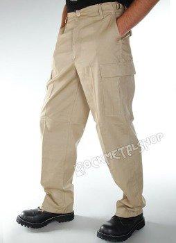 spodnie bojówki US RANGER HOSE beige