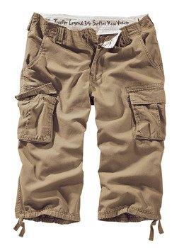 spodnie bojówki krótkie TROOPER LEGEND 3/4 - BEIGE