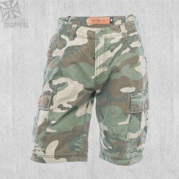 spodnie bojówki krótkie WEST COAST CHOPPERS - INDUSTRIAL