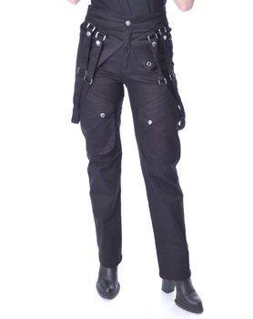 spodnie damskie CHEMICAL BLACK - CRUSADER