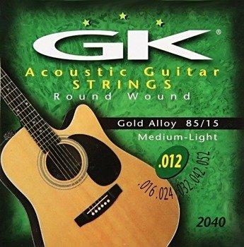 "struny do gitary akustycznej MEDINA ARTIGAS ""GK"" Gold Alloy, Medium Light /012-052/"