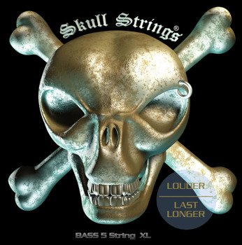 struny do gitary basowej 5str. Skull Strings BASS Line B5XL /040-125/