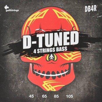 struny do gitary basowej GALLI STRINGS - D-TUNED DB4R obniżony strój /045-105/