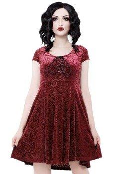 sukienka KILL STAR - ANGELYN (WINE)