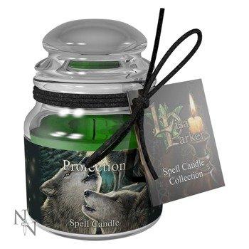 świeczka PROTECTION SPELL - LAVENDER, zapachowa
