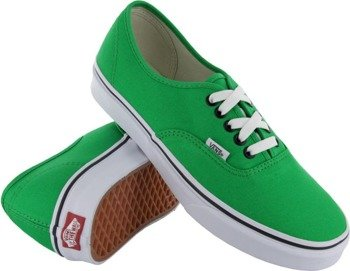 trampki VANS - AUTHENTIC BRIGHT GREEN /BLACK