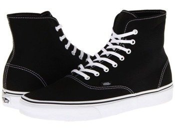 trampki VANS  - AUTHENTIC HI BLACK/TRUE WHITE