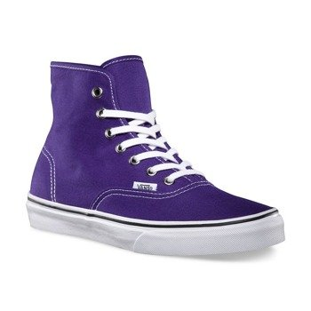 trampki VANS  - AUTHENTIC HI HELIOTROPE TRUE WHITE