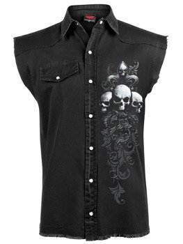 workshirt SKULL SCROLL bez rękawów