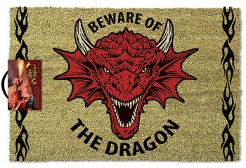 wycieraczka ANNE STOKES - BEWARE OF THE DRAGON