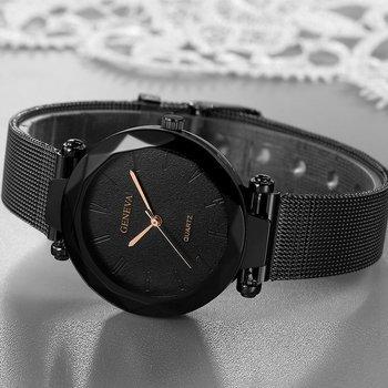 zegarek damski GENEVA  BLACK