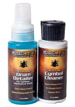zestaw do pielęgnacji perkusji MUSIC NOMAD DRUM & CYMBAL COMBO PACK MN117