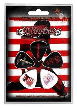 zestaw kostek MOTLEY CRUE - RED, WHITE & CRUE (5 szt)