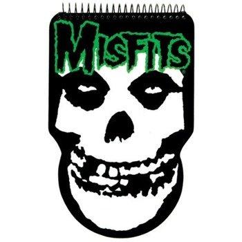 zeszyt/notes MISFITS - SPLATTER FIEND COMBO PACK  gruba linia